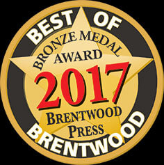 Perfect Star Heating and Air Conditioning Concord, CA is proud to have won the honor of Best of Brentwood 2017 Bronze Medal