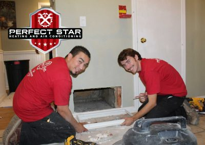 The Perfect Star Install team are a cut above the rest! Left to right David Mendoza and Dade Clifton
